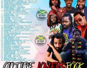 Dj Roy - Reggae Culture Lovers Rock Mix 2019