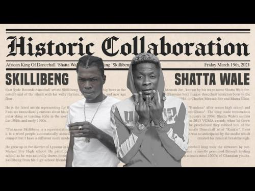 Shatta Wale – Blow Up Ft. Skillibeng, Gold Up mp3 download