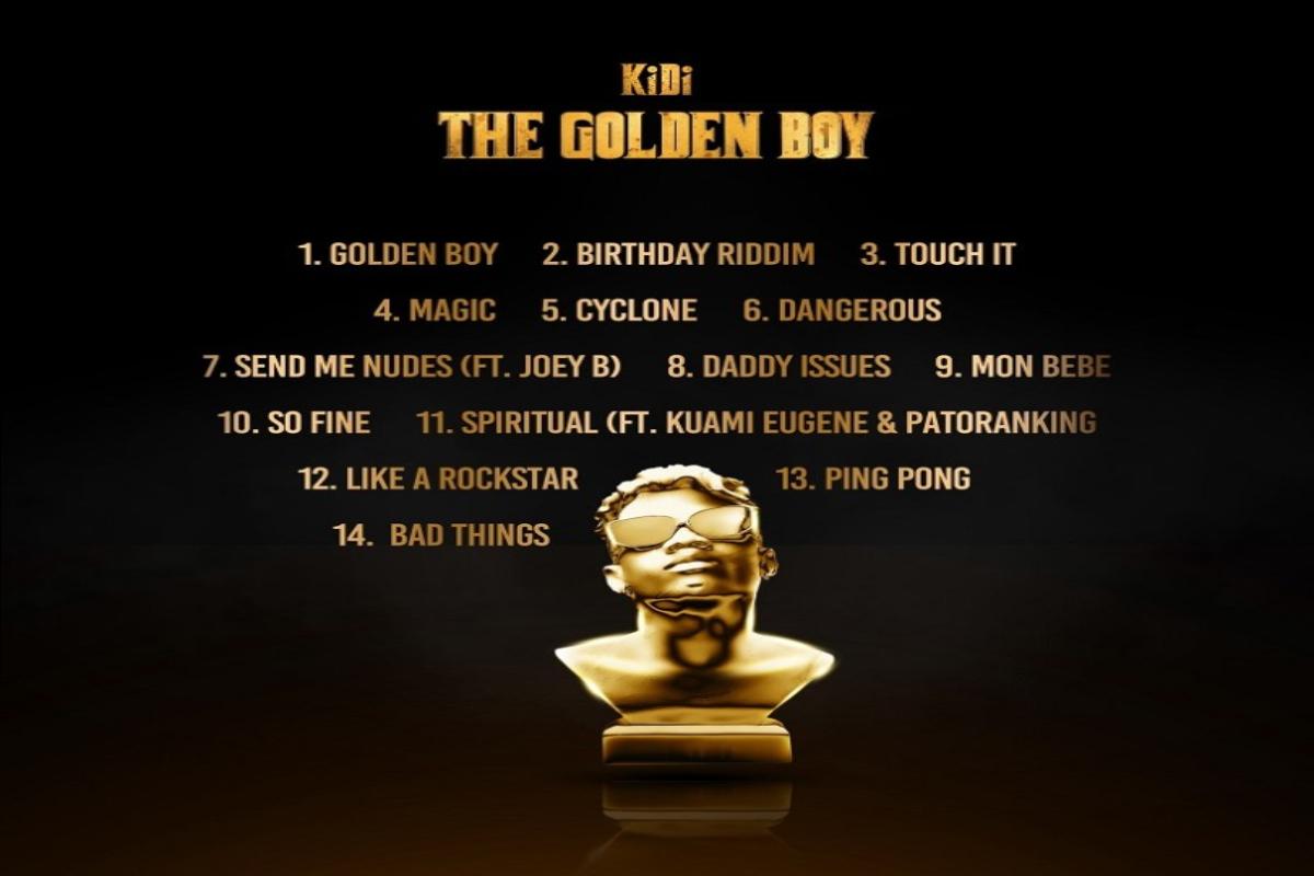 Album: KiDi – The Golden Boy mp3 download