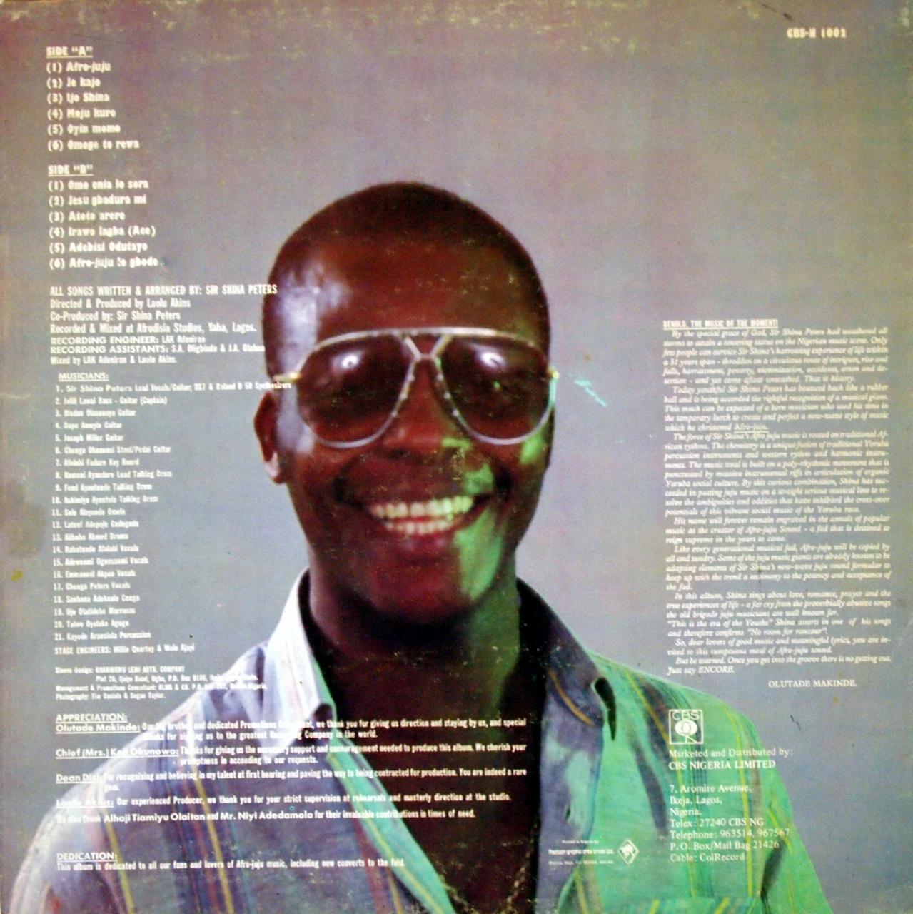 Sir Shina Peters - Afro Juju (Ace) mp3 download