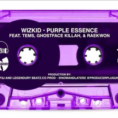 WizKid Ft. Tems, GhostFace Killah & Raekwon – Purple Essence mp3 download