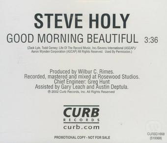 Steve Holy - Good Morning Beautiful
