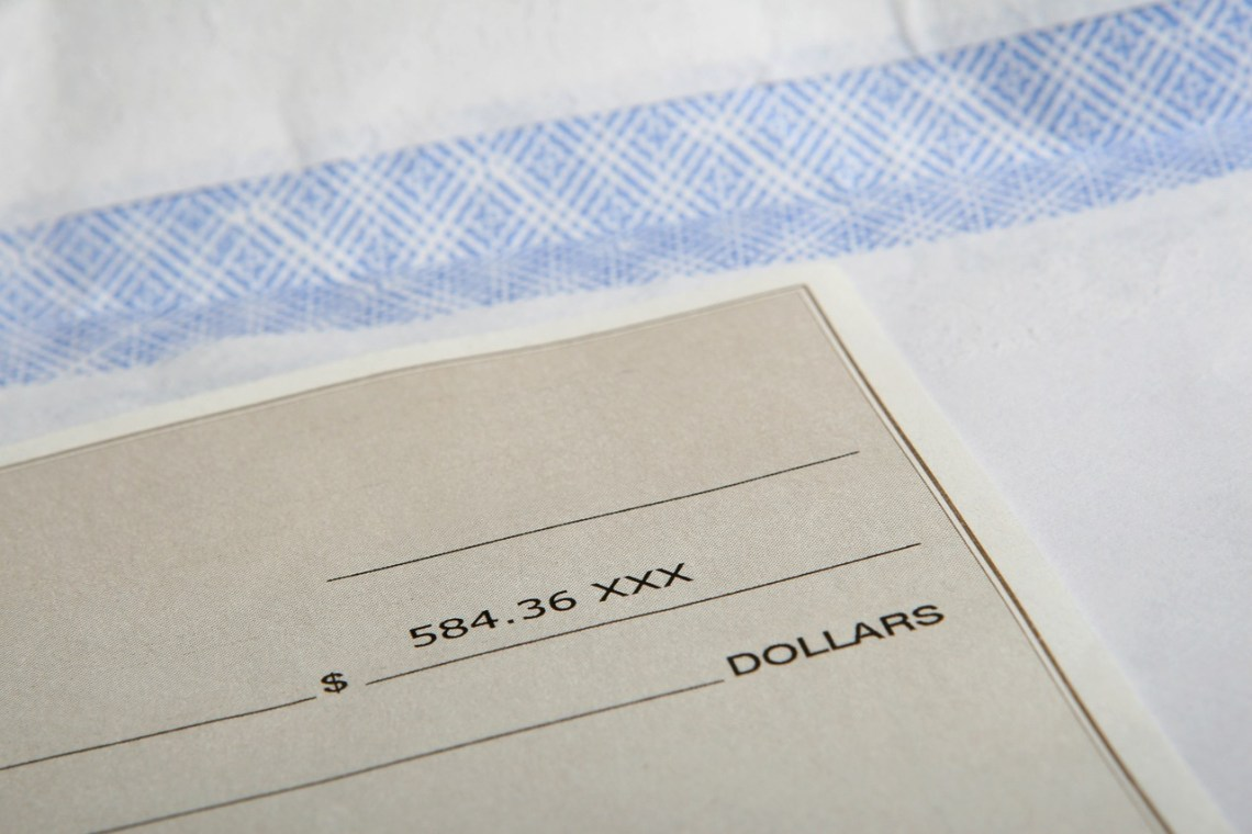 bloggers and freelancers can also receive payments by cheque
