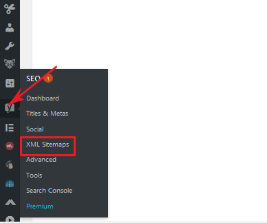 generating XML sitemaps for WordPress SEO