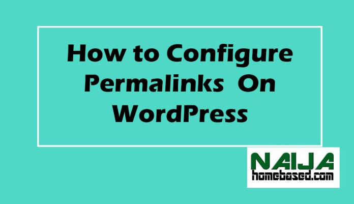 how to change permalinks on wordpress for SEO