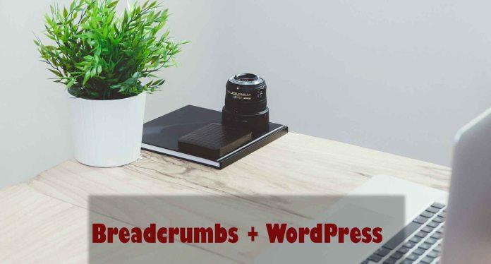 Enabling beadcrumbs in WordPress
