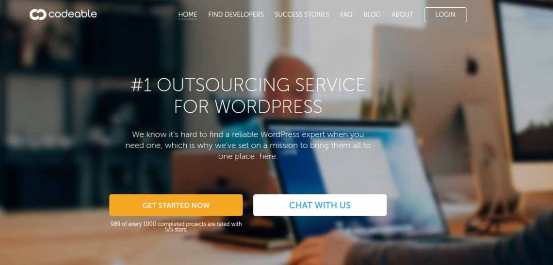 Codeable: #1 Outsourcing servicice for WordPress