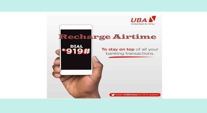 UBA airtime recharge