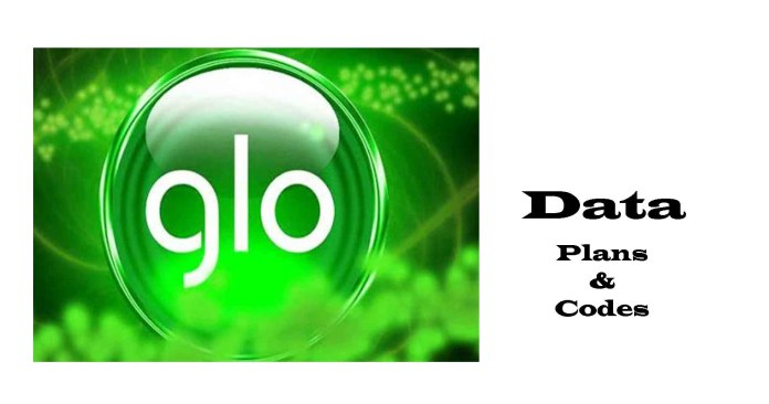 Glo data plans & Subscription codes
