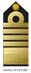 Badge / insignia of Nigerian Naval Admiral of the fleet