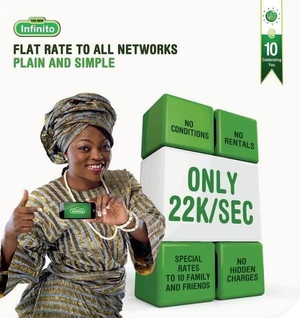 Glo Infinito: Flat rate to all networks plain and simple