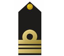 Nigerian Navy lieutenant commander badge / insignia
