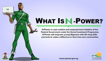 NPower Recruitment 2019: Application Form | portal npower gov ng