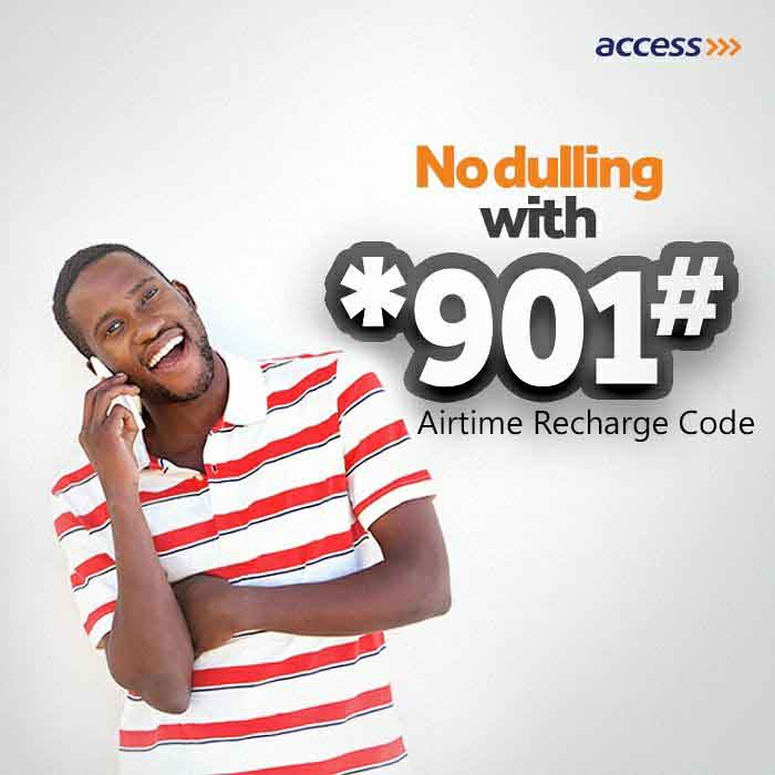 Access Bank Airtime recharge code