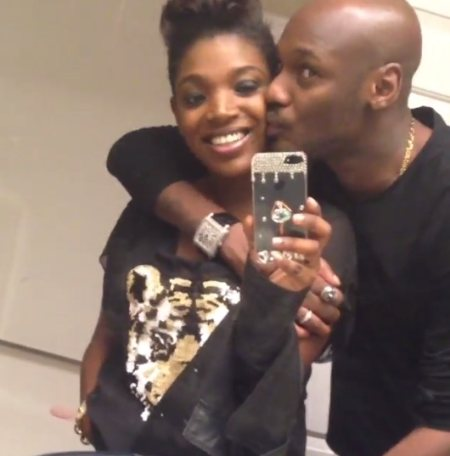 Selfie: Innocent Idibia (2Face) and his wife Annie MaCaulay