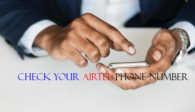 check Airtel phone number