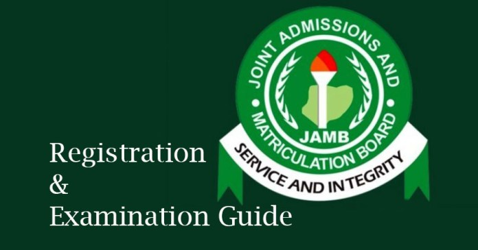 JAMB UTME / DE examination and registration guide