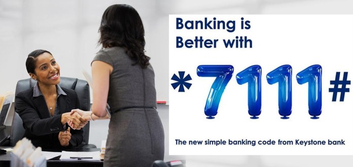 USSD banking code for Keystone bank: Transfer, recharge, check balance and more