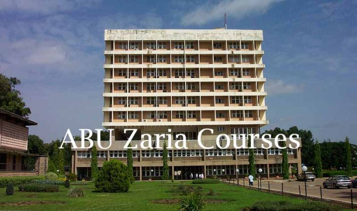 ABU Zaria courses