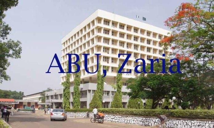 Ahmadu Bello University (ABU), Zaria
