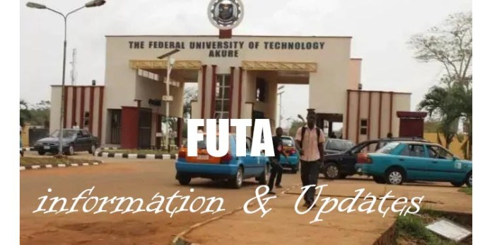 Federal University of Technology (FUTA) information & Updates