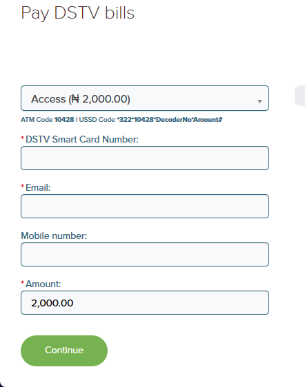 How to Pay (Renew) DStv Subscription Online Or Using USSD