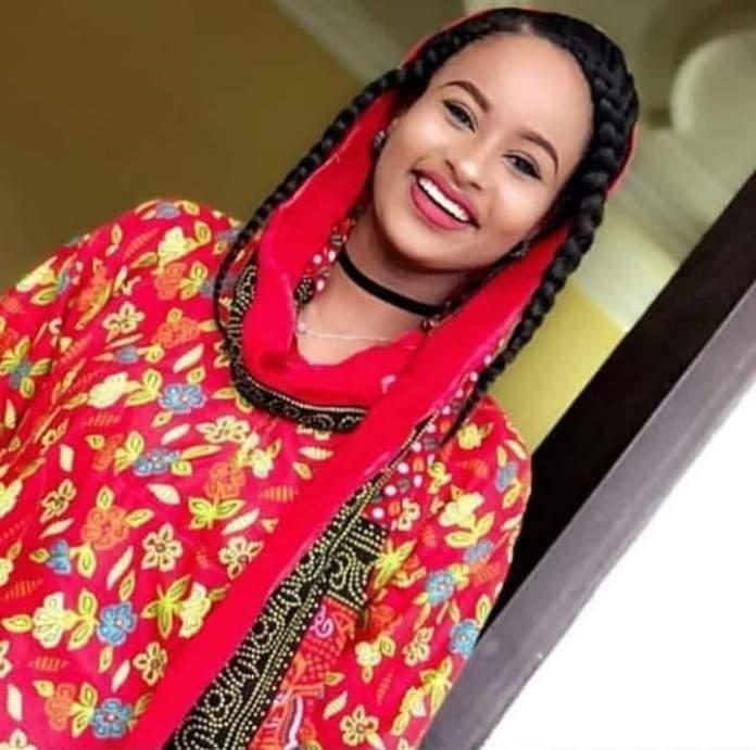 Beautiful Hausa/Fulani woman
