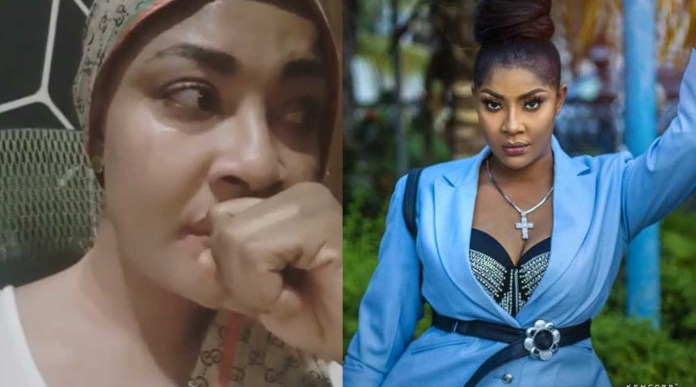 Angela Okorie crying