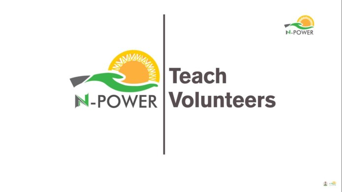 N-Power Teach 2020 application