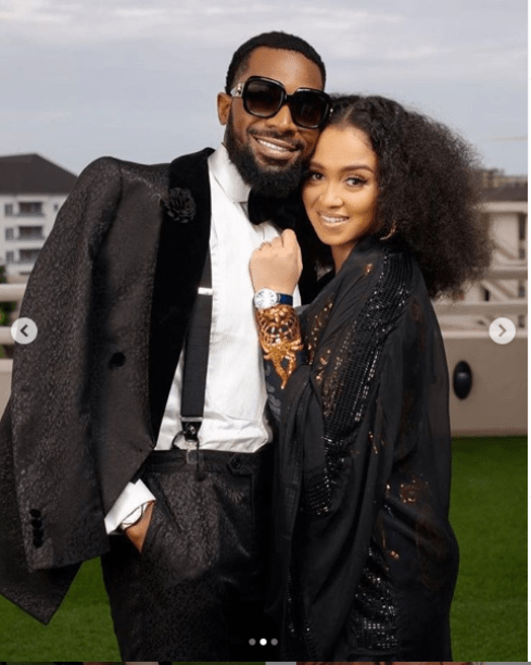 'You are the best' - D'banj praises wife, Didi shares cute photos
