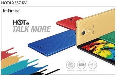 Infinix Set to launch Infinix Hot 4 X557 Smartphone