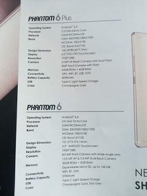 Tecno Expands with Life Images of Tecno Phantom 6 & 6 Plus in Dubai