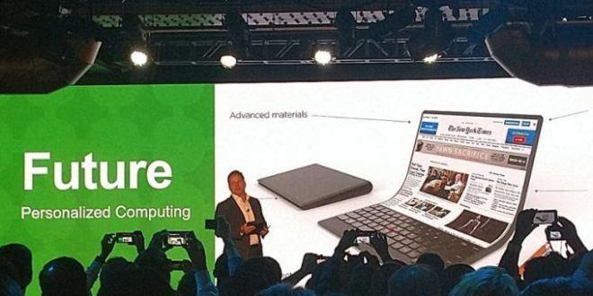 Lenovo Bendable Laptop Concept