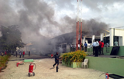 Christ embassy fire NL TRAGIC: Property Worth Millions Destroyed As Fire Guts Christ Embassy Lagos