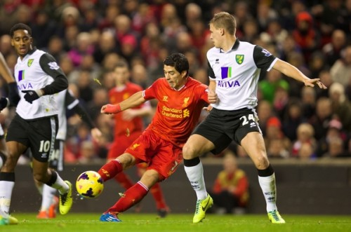 PROP131204 020 Liverpool Norwich 500x331 [Video] Norwich City 2   3 Liverpool [Premier League] Highlights