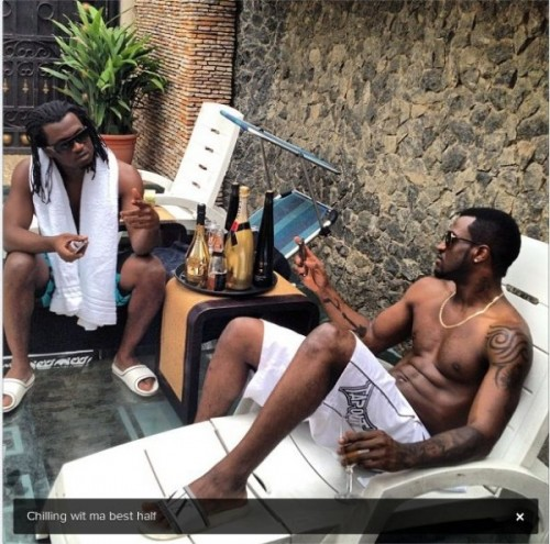 Peter Paul Okoye P Square Instagram 500x495 Forever P Square! They Cleared The Air, Confirm Rumors and Say They Are Back Stronger Than Ever [See Tweets]