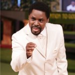 Man climbs mast, threatens to jump to his death unless prophet T. B. Joshua does this. (Read here)