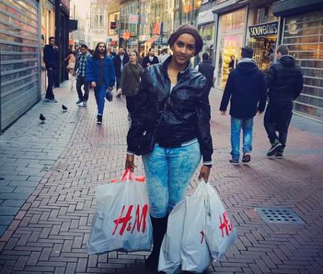 juliet Juliet Ibrahims H and M Shopping Bags Causes Commotion On Her Page [Photos]