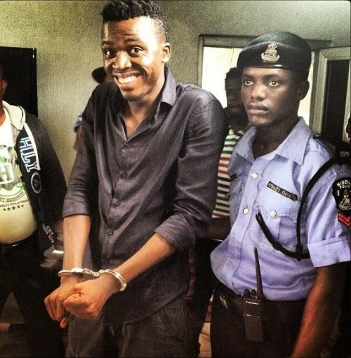 "ss2 500x511 2face In Chains On The Set Of Soundsultan's Upcoming Movie ""headgone"" [Photos]"