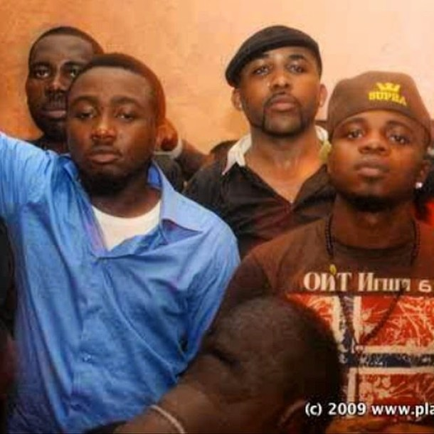 Ice prince TBT Ice Prince Shares Throwback Picture Of Himself, Late Dagrin & Banky W [See Photo]