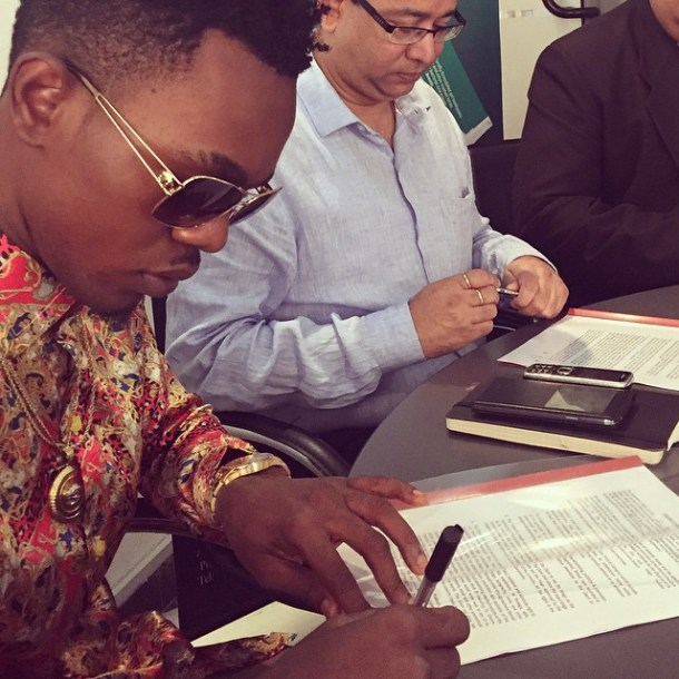 patoranking endorsement Congratulation To Patoranking As He Snags Endorsement [See Photo]