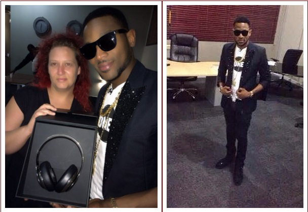 dbanj2 See Dbanj Stylish Look As He Dines With BBA Housemates (Photos)