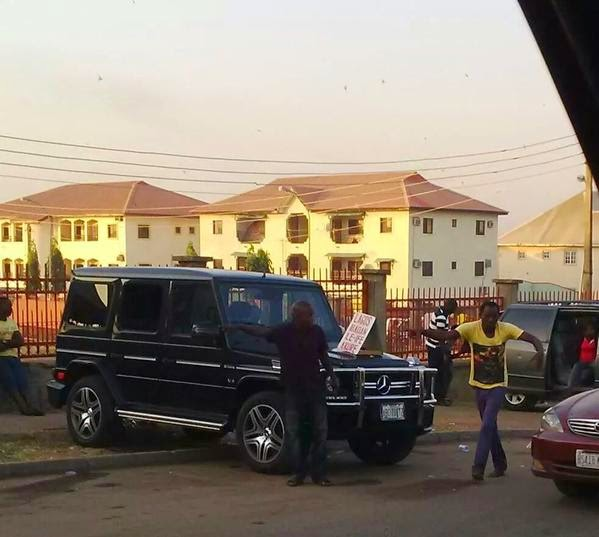 g wagon WOW!! G Wagon Now Been Used For Public Transportation In Lagos [See Photo]