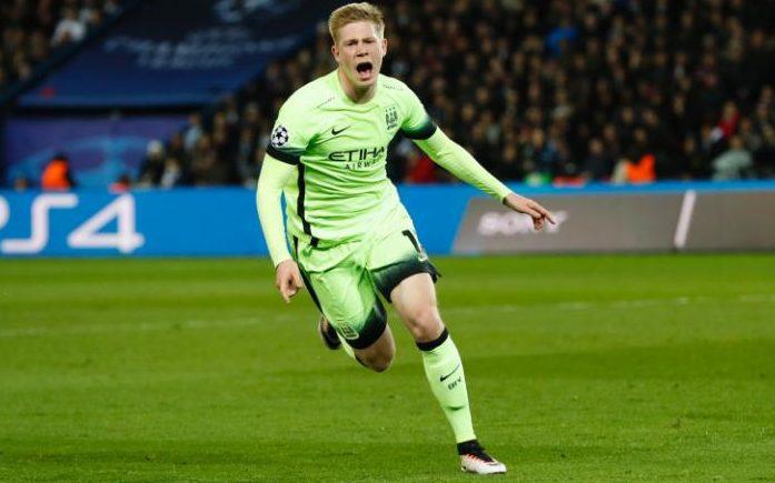 Kevin-De-Bruyne-celebrates-a-goal-against-PSG