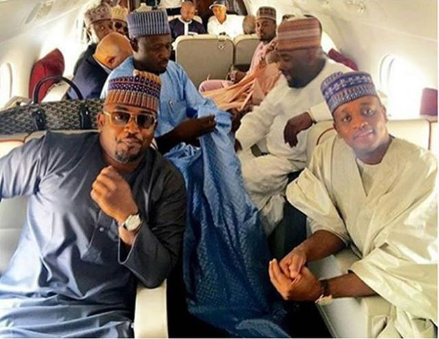 Message To All The Youths Who Want To Die For Politicians | See This Photo Of APC & PDP Billionaires' Sons In A Private Jet