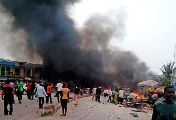 BREAKING!! Two Female Suicide Bombers Killed In Maiduguri