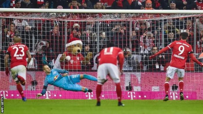 Bundesliga!! Bayern Munich Beat RB Leipzig 3-0 To Go Top Of The League (Read)