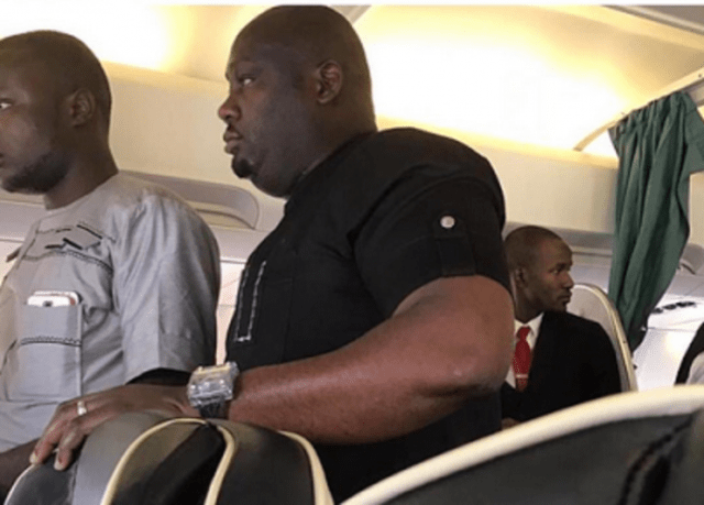 SHAME!!! Naija Men Caught Stealing From Passengers On A Plane (Photo)