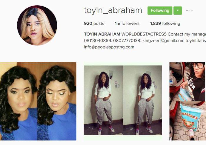 Toyin Aimakhu Changes Name To Toyin Abraham