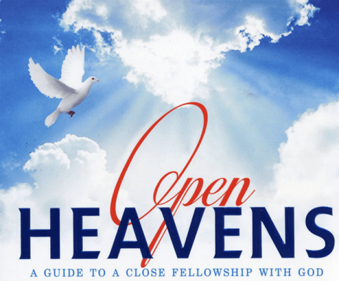 Open heaven - Sundays' Open Heavens Daily Devotional :  It`s What You Tolerate.